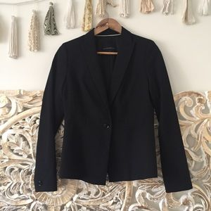 Banana Republic Black Wool Blazer
